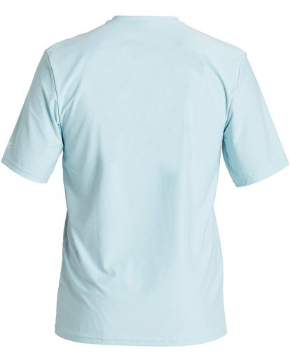 1 United Loose Fit Short Sleeve Rashguard Blue MR013BUT Billabong