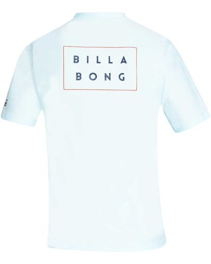 1 Die Cut Loose Fit Short Sleeve Rashguard  MR01TBDC Billabong
