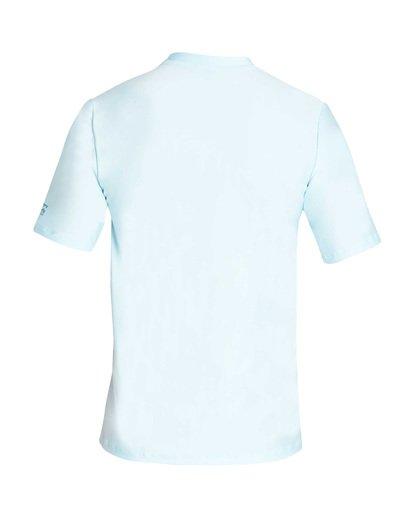 1 Decal Loose Fit Short Sleeve Rashguard Blue MR01TBDE Billabong