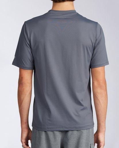 2 Florida Marlin Loose Fit Short Sleeve Rashguard Grey MR01TBMD Billabong