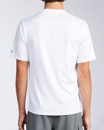 2 Florida Marlin Loose Fit Short Sleeve Rashguard White MR01TBMD Billabong