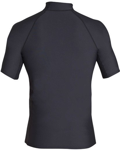 1 Rotor Performance Fit Short Sleeve Rashguard Black MR01TBRO Billabong