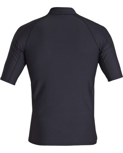 1 Arch Performance Fit Short Sleeve Rashguard Black MR021BAR Billabong