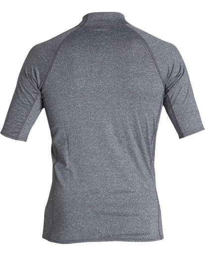 1 Union Performance Fit Short Sleeve Rashguard Grey MR021BUN Billabong