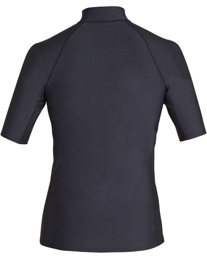 1 Union Performance Fit Short Sleeve Rashguard Black MR02TBUN Billabong