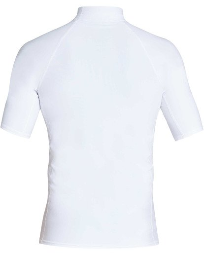 1 Union Performance Fit Short Sleeve Rashguard White MR02TBUN Billabong