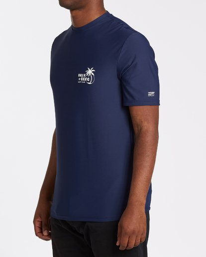 1 Social Club Loose Fit Short Sleeve Surf Shirt Blue MR031BSR Billabong