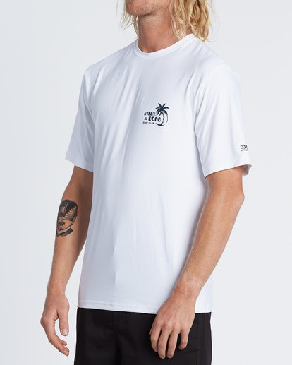 1 SOCIAL CLUB LF SS White MR031BSR Billabong