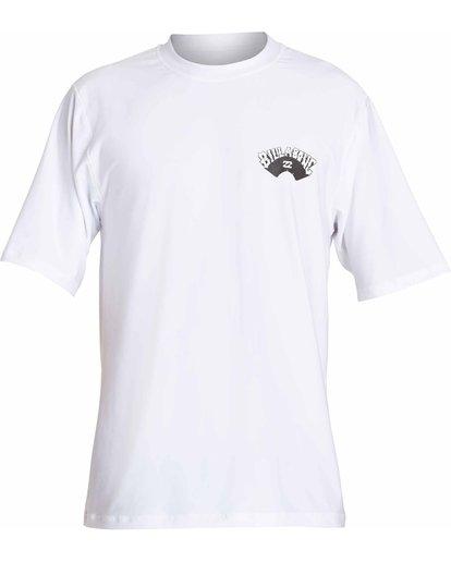0 Dicer Loose Fit Short Sleeve Rashguard White MR03NBDI Billabong