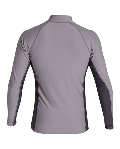 1 Diamond Performance Fit Short Sleeve Rashguard Grey MR03VBDI Billabong