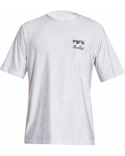 0 Riot Loose Fit Short Sleeve Rashguard Grey MR05NBRL Billabong