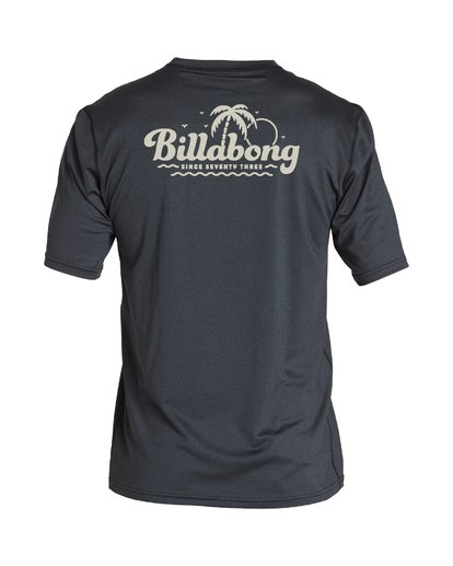 1 Beach Script Loose Fit Short Sleeve Grey MR06VBBE Billabong