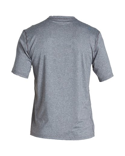1 Union Loose Fit Short Sleeve Rashguard Grey MR06VBUN Billabong