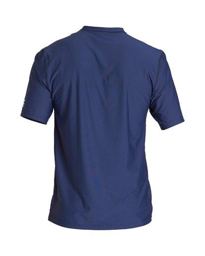 1 Union Loose Fit Short Sleeve Rashguard Blue MR06VBUN Billabong