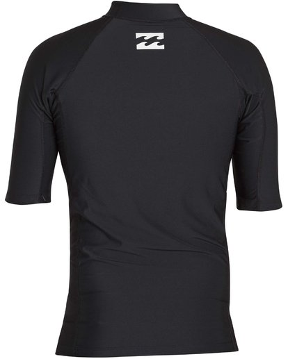 1 All Day United Performance Fit Short Sleeve Rashguard  MR12NBAU Billabong