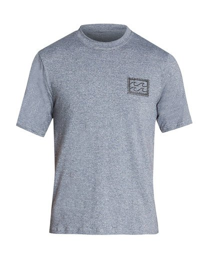 0 Nairobi Loose Fit Short Sleeve Rashguard Grey MR24TBNA Billabong