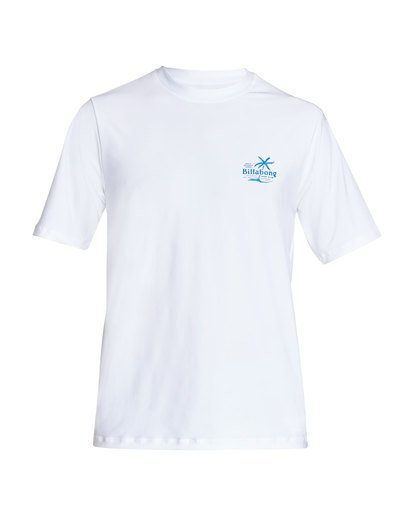 0 Surf Club Loose Fit Short Sleeve Rashguard White MR24TBSU Billabong
