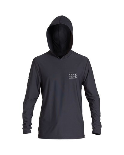 0 Unity Hooded Loose Fit Long Sleeve Black MR52VBUH Billabong
