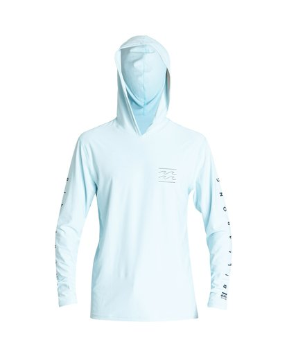 0 Unity Hooded  Loose Fit Long Sleeve Blue MR52VBUH Billabong