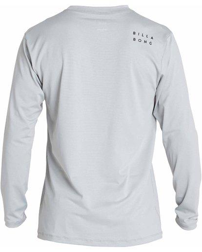 1 All Day Mesh Loose Fit Long Sleeve Rashguard Grey MR53NBAM Billabong