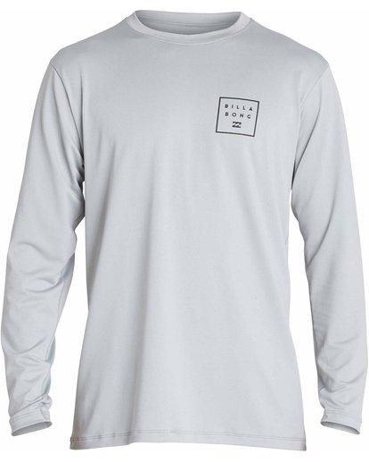 0 All Day Mesh Loose Fit Long Sleeve Rashguard Grey MR53NBAM Billabong