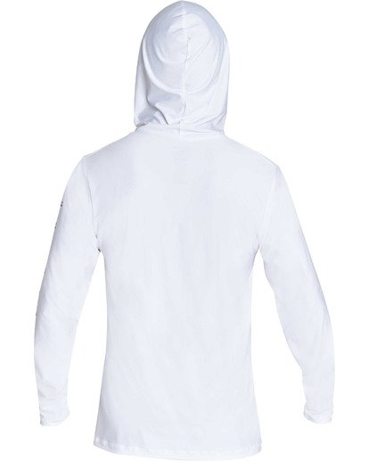 1 Unity Hooded Loose Fit Long Sleeve Rashguard White MR55TBUH Billabong
