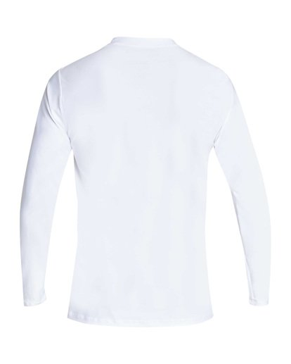 1 Unity Loose Fit Long Sleeve Rashguard White MR55TBUL Billabong