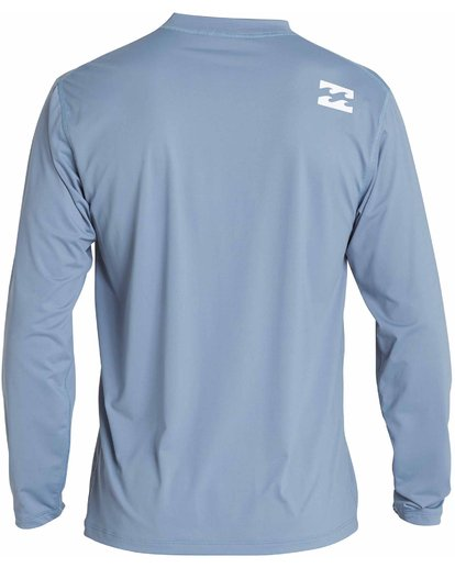 1 All Day Wave Loose Fit Long Sleeve Rashguard Blue MR57NBWL Billabong