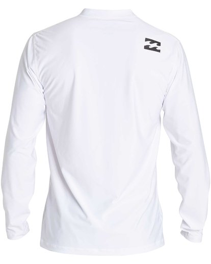 1 All Day Wave Loose Fit Long Sleeve Rashguard White MR57NBWL Billabong