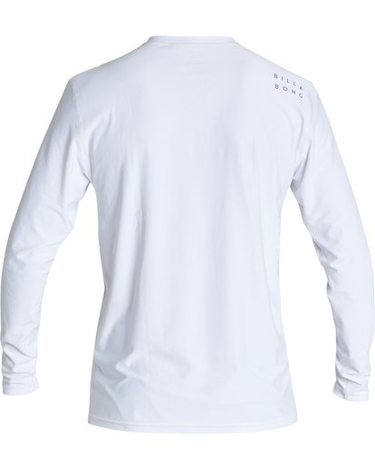 1 All Day Wave Loose Fit Long Sleeve Surf Shirt White MR591BAL Billabong