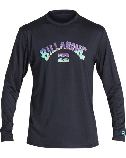 0 Bunker Loose Fit Long Sleeve Surf Shirt Black MR591BBK Billabong