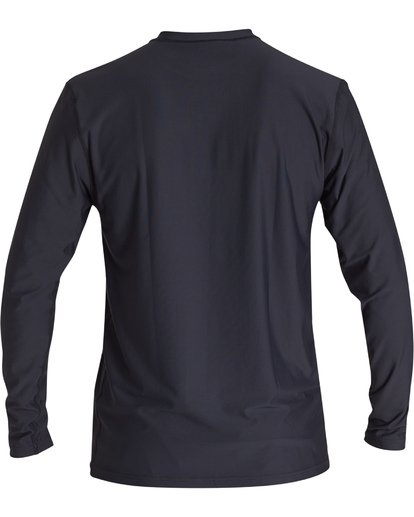 1 Break Loose Fit Long Sleeve Surf Shirt Black MR591BBR Billabong