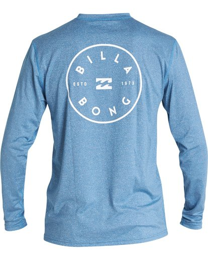 1 Rotor Loose Fit Long Sleeve Surf Shirt Blue MR591BRO Billabong