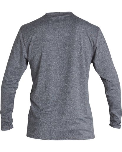 1 Union Loose Fit Long Sleeve Surf Shirt Grey MR591BUN Billabong