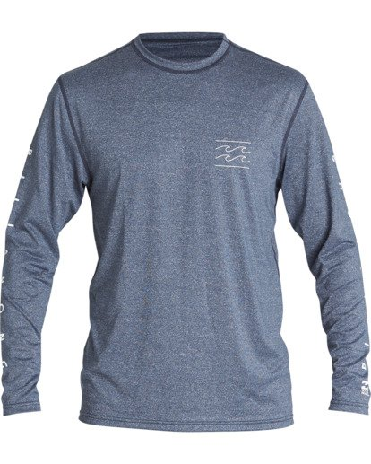 0 Unity Loose Fit Long Sleeve Surf Shirt  MR591BUT Billabong