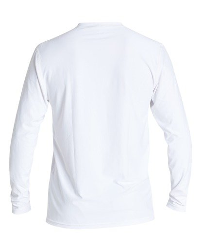 3 Unity Loose Fit Long Sleeve Surf Shirt White MR591BUT Billabong