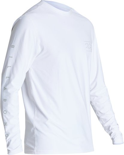 2 Unity Loose Fit Long Sleeve Surf Shirt White MR591BUT Billabong