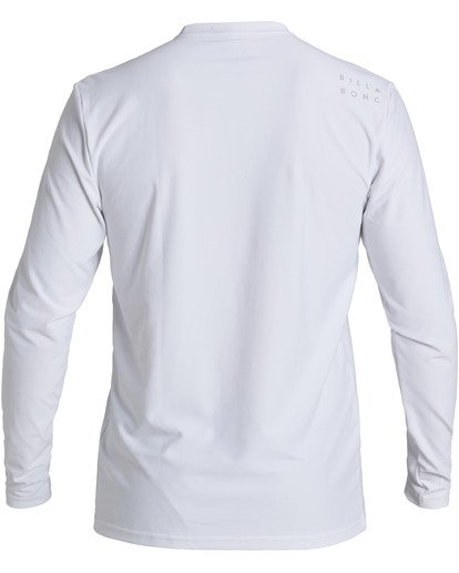 1 All Day Loose Fit Long Sleeve Rashguard White MR593BAD Billabong