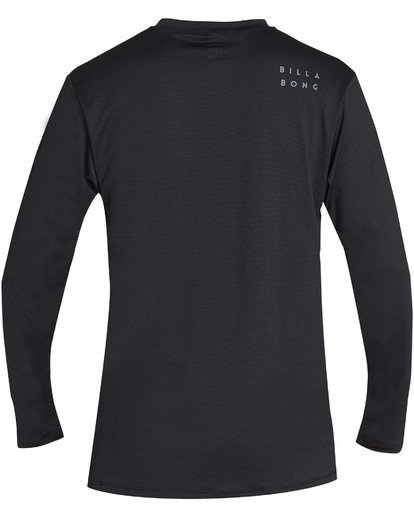 1 All Day Mesh Loose Fit Long Sleeve Rashguard Black MR59TBAM Billabong