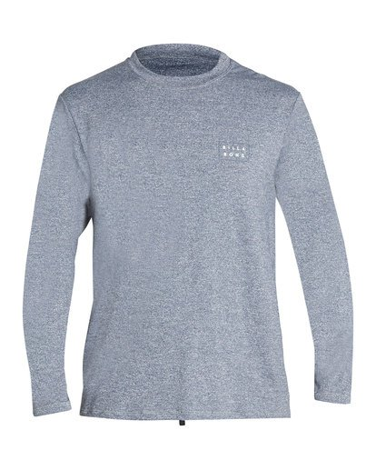 0 Die Cut Loose Fit Long Sleeve Rashguard Grey MR59TBDC Billabong