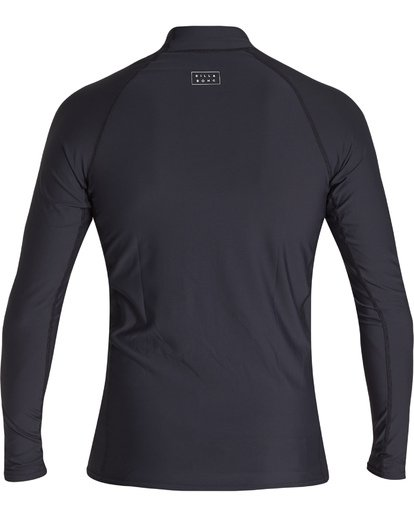 1 All Day Wave Performance Fit Long Sleeve Rashguard Black MR601BAL Billabong
