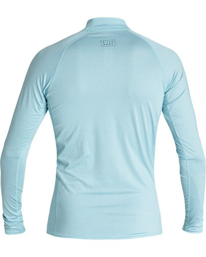 1 All Day Wave Performance Fit Long Sleeve Rashguard Multicolor MR601BAL Billabong