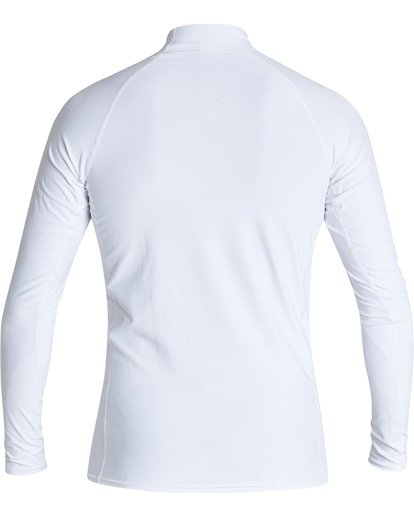 1 Union Performance Fit Long Sleeve Rashguard White MR601BUN Billabong