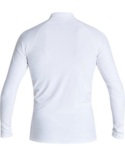 2 Unity Performance Fit Long Sleeve Rashguard White MR601BUY Billabong