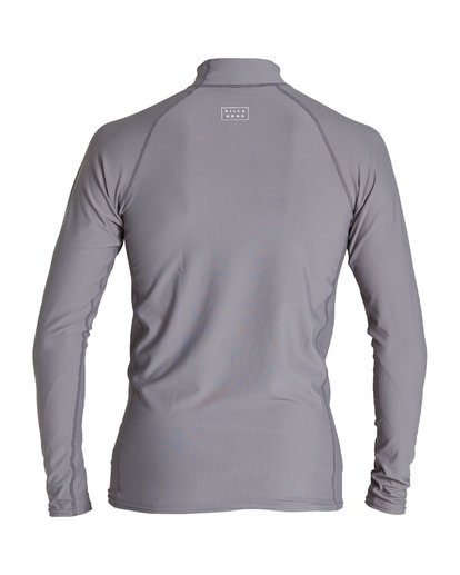 1 All Day Wave Performance Fit Long Sleeve Rashguard Grey MR60VBAL Billabong