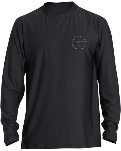 0 Rotor 2 Loose Fit Long Sleeve Rashguard Black MR61NBRO Billabong