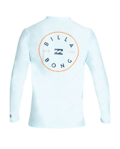 1 Rotor Loose Fit Long Sleeve Rashguard  MR61TBRO Billabong