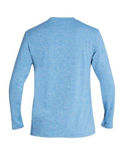 1 Surf Club Loose Fit Long Sleeve Rashguard Blue MR61TBSU Billabong