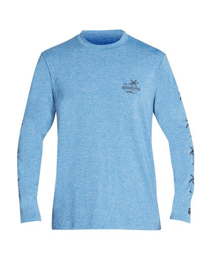 0 Surf Club Loose Fit Long Sleeve Rashguard Blue MR61TBSU Billabong