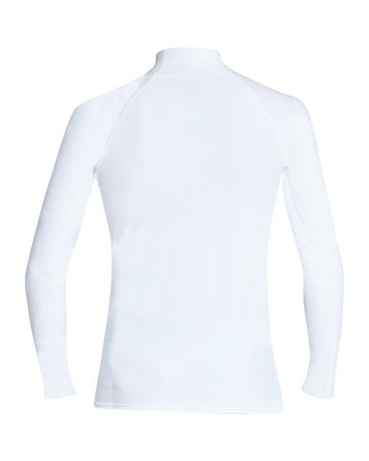 1 Unity Performance Fit Long Sleeve Rashguard White MR61TBUY Billabong